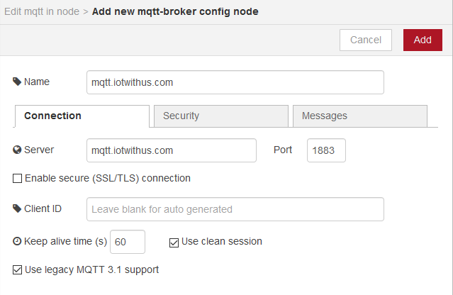 Using Node-RED and MQTT to create earthquake alerts – IoT